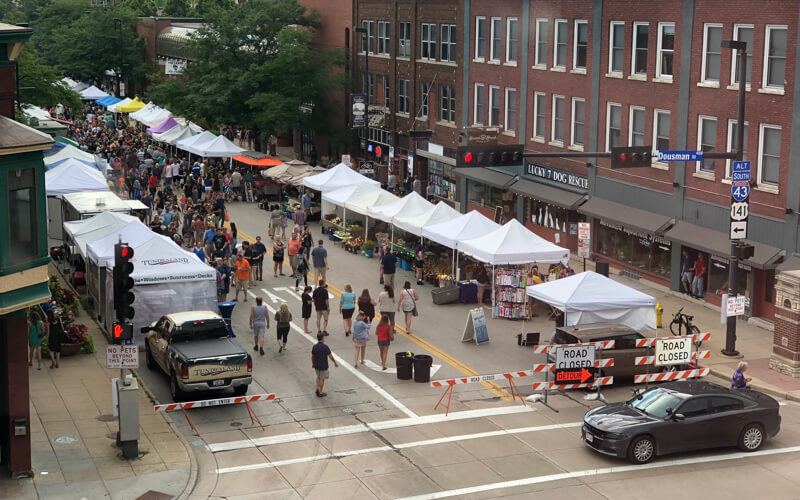 Green Bay's Broadway Farmer's Market