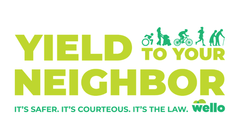Yield to Your Neighbor Blog